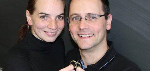 Tanja F. & Carsten N. aus Marl schmieden Ihre Trauringe selber
